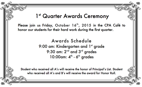 CPA Q1 Awards